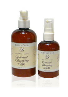 ORGANIC COCONUT FACIAL CLEANSING MILK